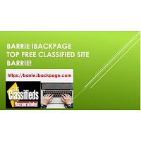 Barrie Ibackpage Top Free Classified Site Barrie!